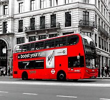 London Bus by CreativeShelf