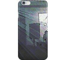 BLACK Electronic Underground #16 iPhone Case/Skin
