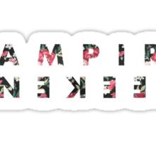 Vampire weekend // white Sticker