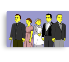 Downton Abbey - Downstairs Five Canvas Print