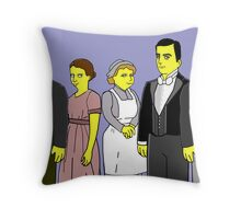 Downton Abbey - Downstairs Five Throw Pillow