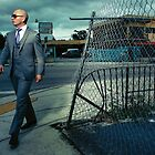 Pitbull Walking by lrod55