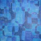 Blue Cubes by Joan Wild