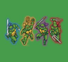 Teenage Mutant Ninja Turtles #1 by G-Spark