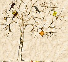 Scribbler - Autumn tree by RosiLorz