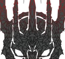 Sauron's helmet Sticker
