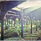 Old Railway, Jersey City by Melinda  Ison - Poor