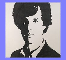 Benedict Cumberbatch/Sherlock Holmes by Clare Shailes
