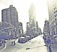 Crosswalk Manhattan by Melinda  Ison - Poor
