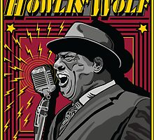 HOWLIN'WOLF AMERICAN BLUES SINGER by Larry Butterworth