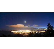 Moonlit night Photographic Print