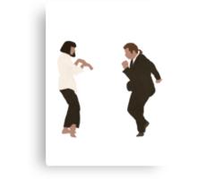 Pulp Fiction dance Canvas Print