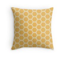 Honeycomb Throw Pillow