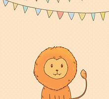 Cute little lion by olarty