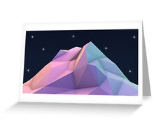 Shine Mountain Greeting Card
