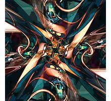Abstract Colorful Shapes Photographic Print