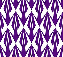 Kimi Raikkonen - Insignia Pattern (violet) by Tom Clancy