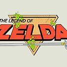 The Legend of Zelda Logo by S M K