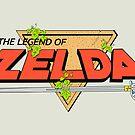 The Legend of Zelda Logo by Studio Momo ╰༼ ಠ益ಠ ༽