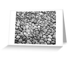 Zen Rock Garden Greeting Card