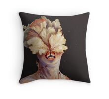 nude portrait Throw Pillow