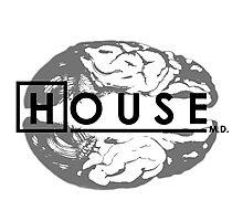 House M.D. Brain Anatomy Photographic Print