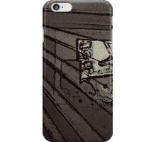 BLACK Electronic Underground #8 iPhone Case/Skin