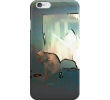 BLACK Electronic Underground #3 iPhone Case/Skin
