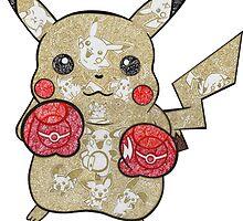Pikachu Doodle  by Pandora's  Scribbles