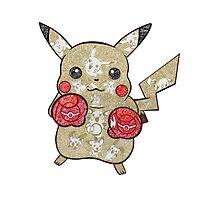 Pikachu Doodle  Photographic Print