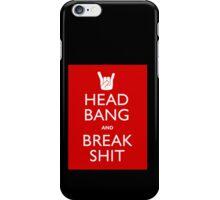 Head Bang iPhone Case/Skin