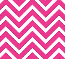 Pink Chevron by BuzzEdition