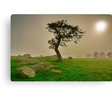 """""""Dawn Shroud At The Rocks"""" Canvas Print"""