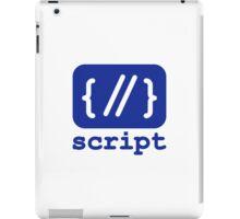 script iPad Case/Skin