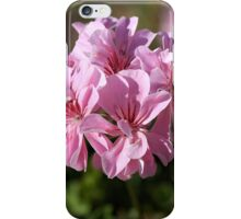 Geranium Pinks iPhone Case/Skin