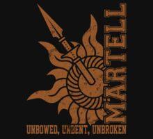 Team Martell Vertical (Gold) Kids Clothes