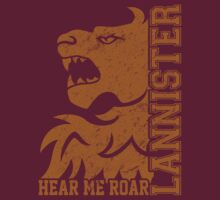 Team Lannister Vertical (Gold) by Digital Phoenix Design