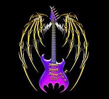 Dark Angel Guitar by Bluesax