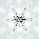 Snowflake on White by Tori Snow