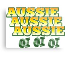 Aussie Aussie Aussie oi oi oi Metal Print