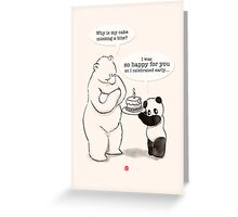 Happy Birthday for you! Greeting Card
