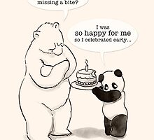 Happy Birthday for me! by Panda And Polar Bear