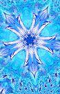 Blue Star Kaleidoscope  by Tori Snow