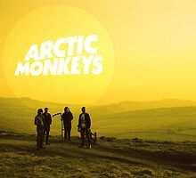 Arctic Monkeys Landscape Print by ghostlight2