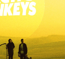 Arctic Monkeys Landscape Print Sticker