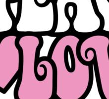 Peace, Love, Music Sticker