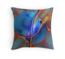 Burning Desire Throw Pillow