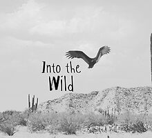Into the Wild throw pillow by Indea Vanmerllin