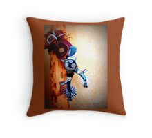 Western Tools Throw Pillow