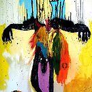 CABEZA DE TORO ASCENDIENDO AL CIELO (BULL HEAD ASCENDING TO HEAVEN) by Alvaro Sánchez